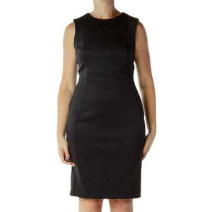 Calvin Klein black fitted dress size 8 brand new